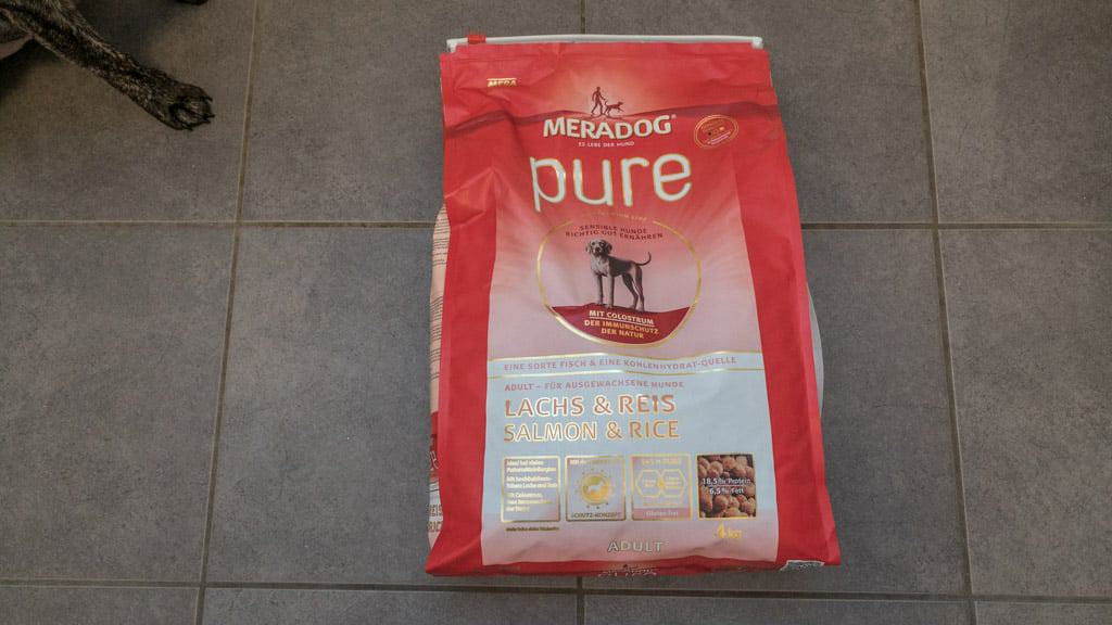 mera dog hundefutter test