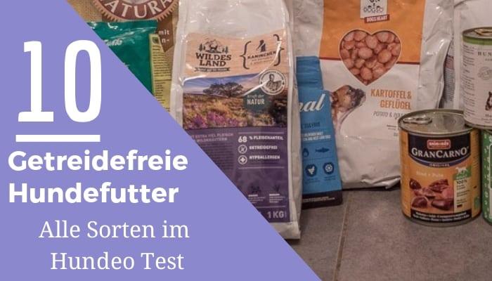 getreidefreies hundefutter test