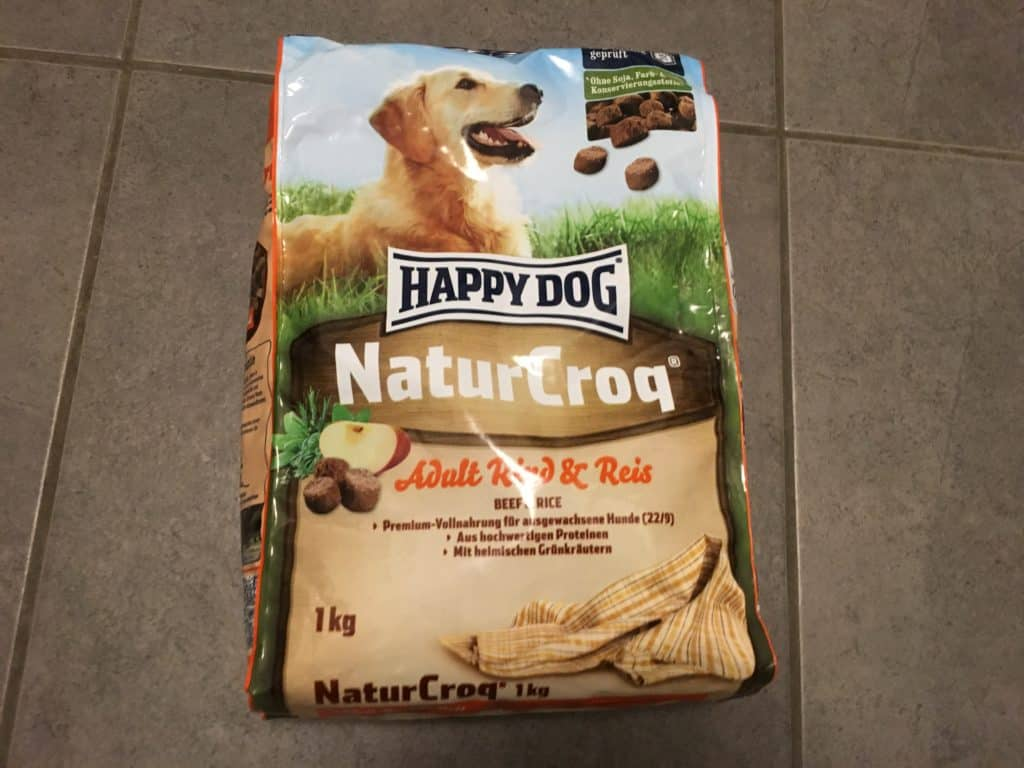 happy dogs hundefutter test