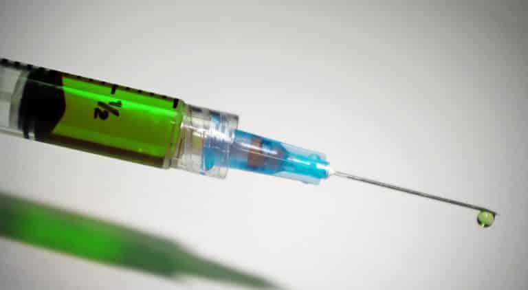 Spritze Impfung Injektion