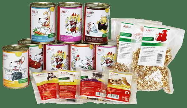 anifit hundefutter schnupperpaket