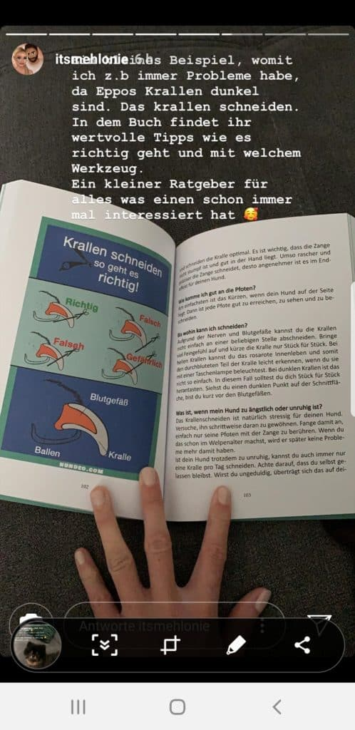 HundeGesundheitsBibel Screenshot2