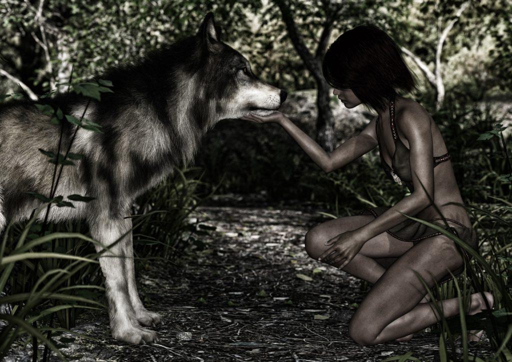 Wolf Mensch