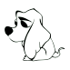trauriger hund icon